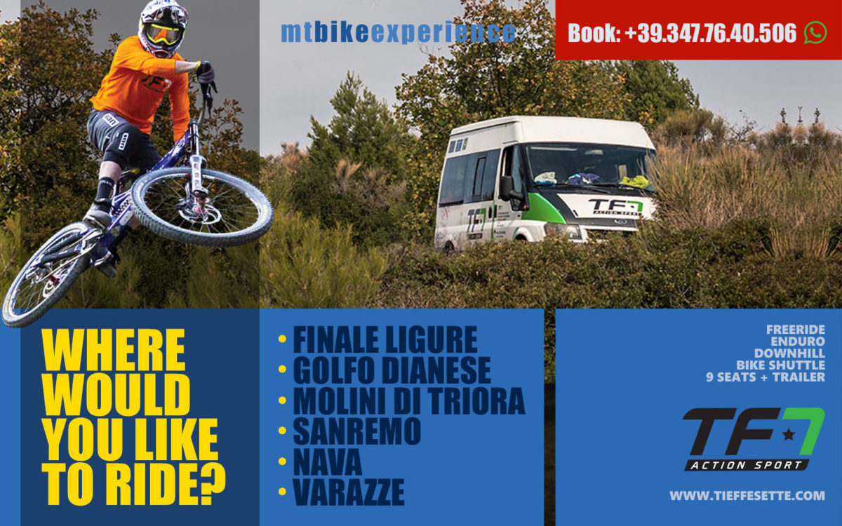 TF7 Bike Shuttle Finale Ligure
